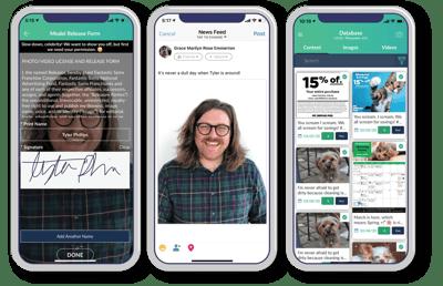 Employee App for Social Media