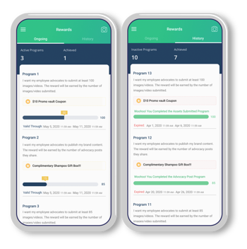 Mobile Rewards for Employees